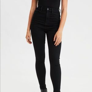 AMERICAN EAGLE HIGH-WAISTED JEANS